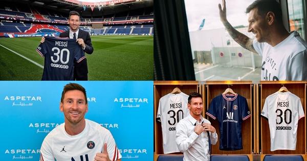 Messi khoác số áo lạ ra mắt PSG: Nhận mức lương vô tiền khoáng hậu, giúp CLB lập kỷ tục chưa từng có