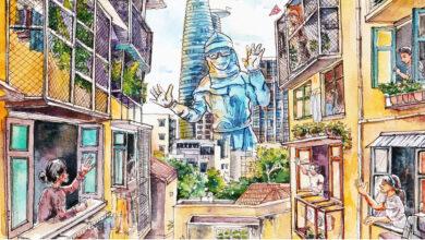 Thương Sài Gòn qua bộ ảnh thành phố đang 'bệnh' | Giới trẻ