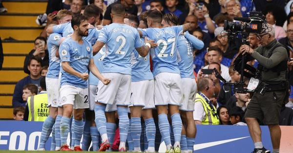 Jesus ghi bàn, Man City thắng sát nút Chelsea