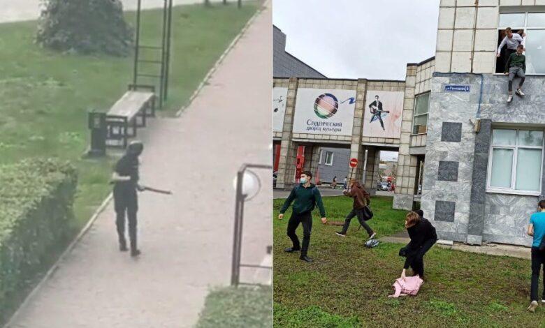 Xả súng làm 8 người chết ở đại học Nga, sinh viên hốt hoảng nhảy lầu bỏ trốn | Thế giới