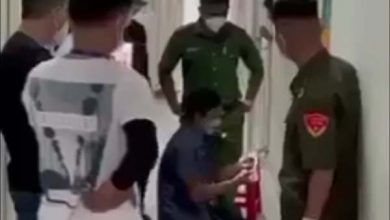 Bình Dương: Phá cửa, cưỡng chế người phụ nữ không chịu test Covid-19