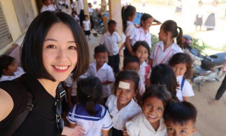 Cô giáo xinh đẹp vướng bê bối kêu gọi từ thiện sai luật