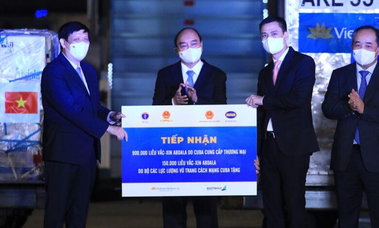 Hơn 1 triệu liều vắc xin Abdala đã về tới Việt Nam theo chuyên cơ Chủ tịch nước | Thời sự