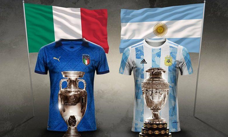 Italy, Argentina chốt tranh Siêu Cup Liên lục địa tháng 6/2022