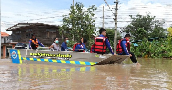 Bangkok và các tỉnh lân cận báo động vì lũ