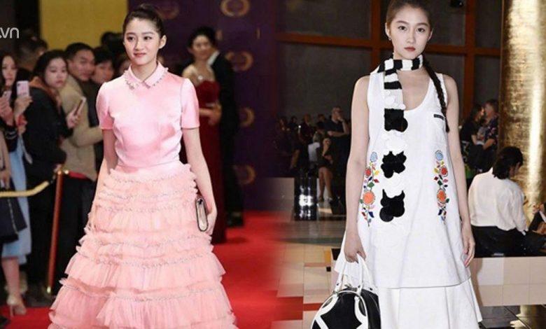 Dù mặt xinh dáng chuẩn, Cách Cách Bắc Kinh vẫn có nhiều pha mặc đồ vừa sến vừa quê