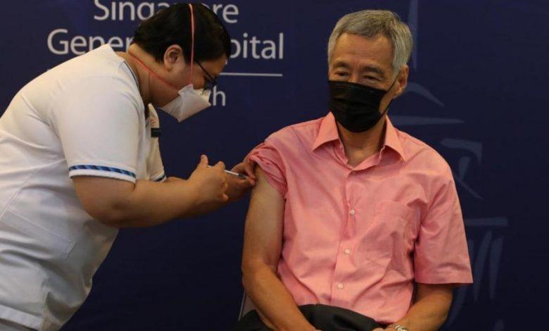 Thủ tướng Singapore Lý Hiển Long tiêm mũi tăng cường vắc xin Covid-19   Thế giới