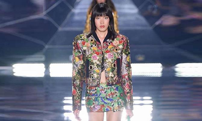 Phương Oanh Next Top diễn cho Dolce&Gabbana