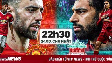 Trực tiếp bóng đá MU vs Liverpool vòng 9 Ngoại hạng Anh