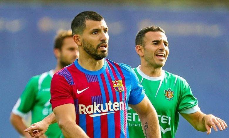 Aguero lập công ở trận đầu khoác áo Barca