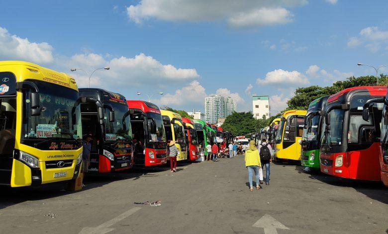Bình Dương cho phép xe khách, xe buýt và taxi hoạt động trở lại