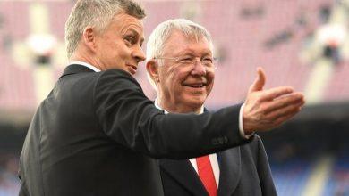 Ferguson đến sân tập Man Utd để giữ Solskjaer